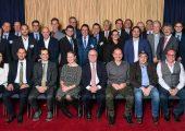 Die Vertreter der ausgezeichenten Firmen nach der Preisverleihung. (Bildquelle: Pro-K)