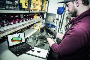 Forschung im Technikum (Bildquelle: Simcon)