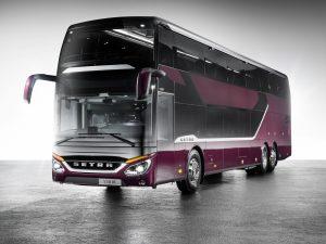 Dank 3D-Druck stehen Ersatzteile, zum Beispiel für den Innenraum von Bussen, kostengünstig und schnell zur Verfügung. (Bildquelle: Daimler Buses)