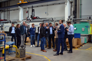 Betriebsbesichtigung: Rund 40 Innonet-Partner trafen sich bei der Firma Geb. Schwarz in Rottweil-Neukirch. (Bildquelle: WFG Nordscharzwald)