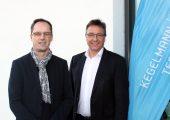 Dr. Reiner Nett, Stephan Kegelmann, seit Februar beide Geschäftsführer Kegelmann Technik. (Bildquelle: Kegelmann Technik)