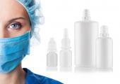 Veredlung von Kunststoffverpackungen für die Augen- und Nasenheilkunde durch Bestrahlung. (Bildquelle: Gerresheimer)
