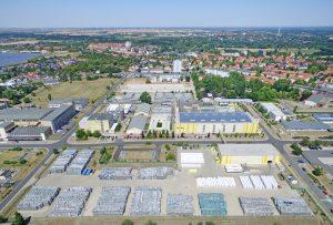 Alpla und Fromm gründen am Standort Wolfen ein Joint Venture, die PET Recycling Team Wolfen. (Bildquelle: Alpla)