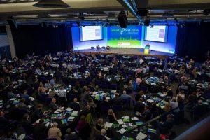 Über 340 Teilnehmerinnen und Teilnehmern diskutierten in London zwei Tage lang zu globalen Lösungen für mehr Kreislaufwirtschaft mit Kunststoff. (Bildquelle: Plastics Europe)