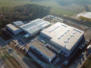 Der zum europäischen Kompetenzzentrum erweiterte Nordson Standort in Münster. (Bildquelle: Nordson)