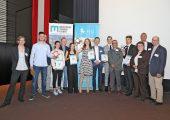 Preisträger und Organisatoren auf dem 28. Leobener Kunststoff-Kolloquim. (Bildquelle: PCCL)