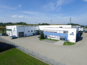 Firmengebäude des Spezialisten für Zerkleinerungstechnik in Zuzenhausen (Bildquelle: alle Amis)