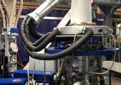 Neue Anlage für die Herstellung von Schwergutsäcken aus Kunststoff (Bildquelle: Reifenhäuser)
