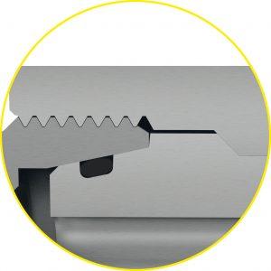 Die Blocksicherung reduziert das Risiko von Leckagen im Dichtbereich der Armatur. (Bildquelle: Stauff)