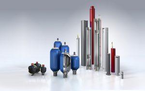 Das umfangreiche Lieferprogramm der Hydrospeicher ermöglicht Lösungen für Speicheranlagen mit mehr als 100.000 l Gasvolumen.  (Bildquelle: Roth)