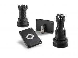 """In der AM-Factory wurden """"on demand"""" Vakuumsauger für Schachfiguren gefertigt."""