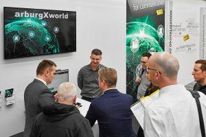 Das Kundenportal Arburg-X-World ist seit den Technologietagen für die deutschen Kunden von Arburg verfügbar. (Bildquelle: Arburg)
