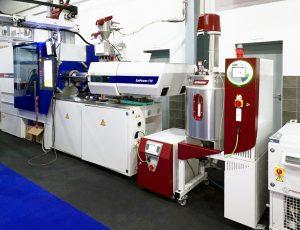 Arbeitszelle im neuen Tecnofrias Kunststoff-Technologie-Zentrum (Bildquelle: alle Wittmann)