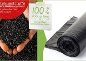 Erde Recycling sammelt gebrauchte Landwirtschaftsfolien und führt sie zu 100 Prozent dem werkstofflichen Recycling zu. Das dabei gewonnene Granulat lässt sich erneut in der Folienherstellung einsetzen. (Bildquelle: Rigk)