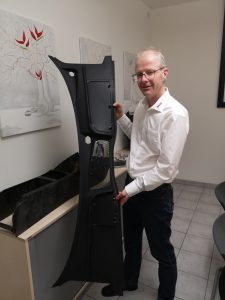 Wisa fertigt schwerpunktmäßig Werkzeuge für Automitive-Anwendungen. Im Bild Geschäftsführer Torsten Decker. (Bildquelle: Ralf Mayer, Redaktion Plastverarbeiter)