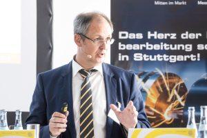 Für Markus Heseding, Geschäftsführer des Fachverbands Präzisionswerkzeuge im VDMA, ist die MEX die Chance, um den Überblick über neue Entwicklungen und Tendenzen in diesem Hightech-Metier zu gewinnen. (Bildquelle: Landesmesse Stuttgart)