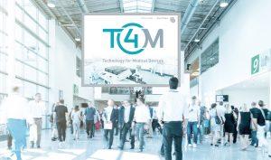 Die  T4M – Technology for Medical Devices hat vom 07. bis 09. Mai ihre Premiere in Stuttgart. (Bildquelle: Messe Stuttgart)