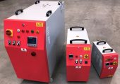 Temperiergeräte mit hoher Kühl- und Heizleistung. (Bildquelle: Deckerform)