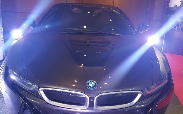 Das Modell I8 von BMW fährt schon seit einiger Zeit auf den Straßen. (Bildquelle: Dr. Etwina Gandert/Redaktion Plastverarbeiter)