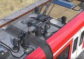 Das Kabelschutzrohr eignet sich für Anwendungen wie Jumpercable, die mit der Gefährdungsstufe HL3 gemäß der Brandschutznorm EN45545-2 bewertet sind. (Bildquelle: Fränkische Industrial Pipes)