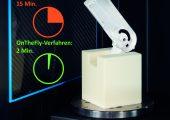 Die neue Computertomografie ermöglicht fertigungsbegleitende Messungen mit hohem Durchsatz. (Bildquelle: Werth)