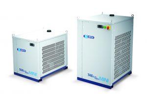 Die Mini-Version ist ein Umlaufkühler für die Innenaufstellung mit 1,8 – 4,4 kW. (Bildquelle: MTA)
