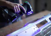 Der Multipositionsgriff des Handscanners  sorgt für effiziente Ergonomie durch effizientes Design (Bildquelle: Ametek)