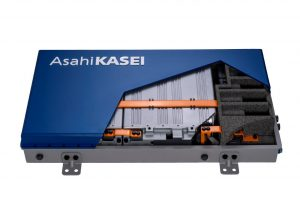 Lithium-Ionen-Batterie-Modul. (Bildquelle: Asai Kasei)