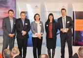 Vertreter von Engel nahmen den Award in Detroit entgegen. (Bildquelle: Engel)
