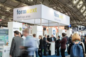 Die Formnext Start-up Challenge wird in diesem Jahr bereits zum fünften Mal ausgetragen. (Bildquelle: Mathias Kutt, Mesago)