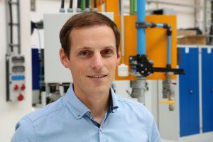 """""""Unsere neue Druckluftstation mit den neuesten GA-Schraubenkompressoren von Atlas Copco ist hocheffizient und konnte daher durch das Bundesamt für Wirtschaft und Ausfuhrkontrolle gefördert werden"""", sagt Guido Langenkamp, Projektleiter bei Kautex Maschinenbau."""
