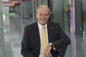 Ulrich Kromer von Baerle, Sprecher der Geschäftsführung Messe Stuttgart, zeigt sich zufrieden mit dem Ergebnis der T4M. (Bildquelle: Messe Stuttgart)