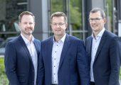 Übernehmen gemeinsam die Geschäftsführung: von links Henk Gövert, Norbert Nobbe, Matthias Lesch.  (Bildquelle: Pöppelmann)