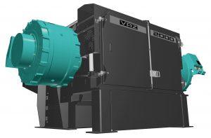 Ein leistungsstarker Ein-Wellen-Vorzerkleinerer kommt in der neuen Recyclinganlage für Kunststoffabfälle zum Einsatz. (Bildquelle: Vecoplan)