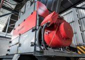 Die Baureihe VEZ 2500 hat einen hohen Durchsatz bei homogener Ausstoßqualität. (Bildquell: Vecoplan)