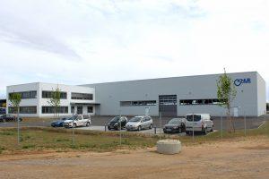 In Wörth an der Donau steht das neue Firmengebäude der Knur Maschinenbau. (Bildquelle: Knur)
