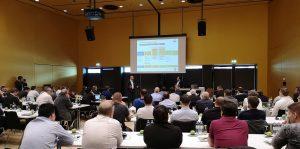 Die Fachvorträge am Symposium Digitalisierung steißen auf großes Interesse. (Bildquelle: Ralf Mayer, Redaktion Plastverarbeiter)