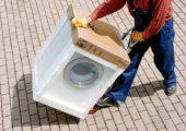 EPS-Verpackungen für Waschmaschine werden gesammelt und recycelt. (Bildquelle: IK)