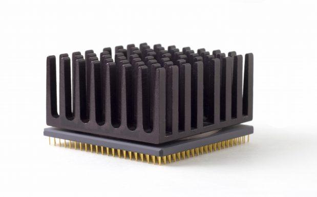 Aluminiumkühlkörper können durch Kunststoffkomponenten ersetzt werden