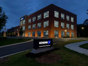 Die Schunk Intec USA in Morrisville ist die größte Auslandsniederlassung des Herstellers von Greifsystemen und Spanntechnik. (Bildquelle: Schunk)
