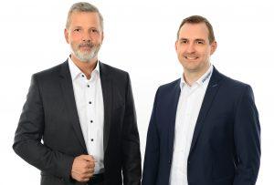 Werner Berens (li.) und Michael Lambert bilden den Vorstand der Vecoplan. (Bildquelle: Vecoplan)