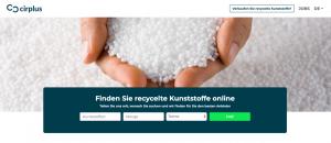 Benutzerfreundlich ist die Online-Handelsplattform für Kunststoffrezyklate aufgebaut. (Bildquelle: Cirplus)