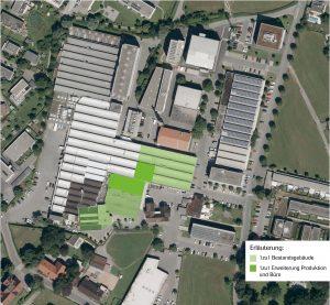 Beim High-Tech-Unternehmen 1zu1 in Dornbirn entstehen in den kommenden zwei Jahren 30 neue Arbeitsplätze. Die Nutzfläche wird von 6000 auf 8500 Quadratmeter erweitert. (Bildquelle: 1zu1)