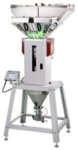 Dosiergerät mit Klappdeckel und einer Durchsatzleistung von bis zu 350 kg/h (Bildquelle: Wittmann)
