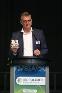 Peter Putsch, Vorsitzender der Polykum – Fördergemeinschaft für Polymerentwicklung und Kunststofftechnik in Mitteldeutschland, Merseburg