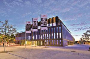 Veranstaltungsort der FSK-Fachtagung ist die Stadthalle Reutlingen. (Bildquelle: BjoernHahn/FSK)