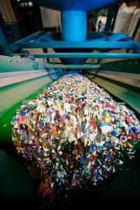 Blick in den Aufbereitungsprozess von Kunststoffabfällen. (Bildquelle: alle Mtm Plastics)
