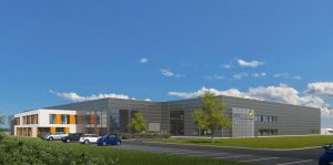 Am Stammsitz des Masterbatches-Hersteller in Lichtenfels entsteht ein neues Produktionswerk. (Bildquelle: Lifocolor Farben)