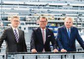 An Guido Spix und Christian Traumann übergibt Hans-Joachim Boekstegers die Geschäfte der Multivac-Gruppe. (Bildquelle: Multivac)