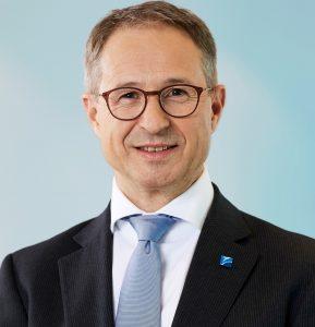Alfred Stern, CEO Borealis, im Interview mit dem VDMA. (Bildquelle: Borealis)